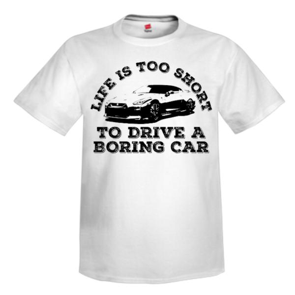 Life's Too Short White Custom T Shirt